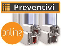 Costo serramenti preventivo di costo e prezzi online for Preventivo serramenti in pvc